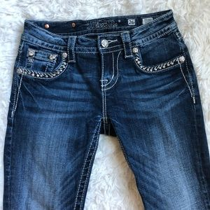 Miss Me | Bling Crop Jeans size 26